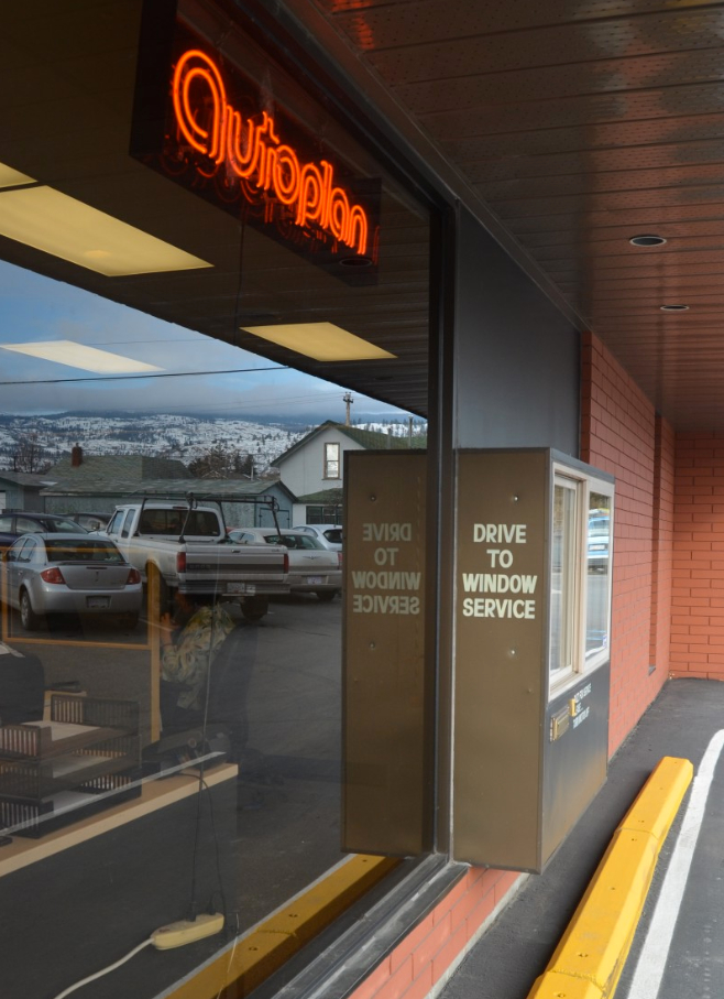 Penticton ICBC Renewal Service Drive Through Window