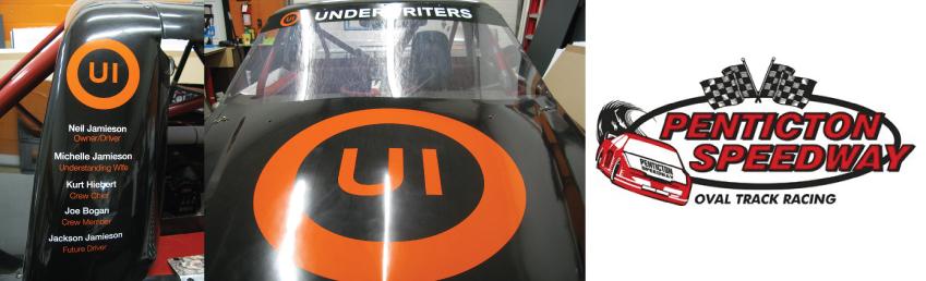 Underwriters Sponsors of Penticton Speedway
